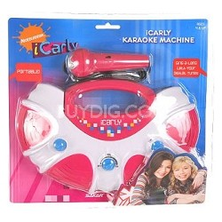 ICarly Portable Karaoke System with Dock