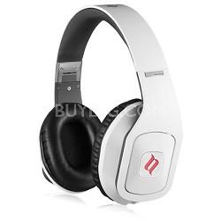 Hammo Over Ear Stereo Hi-Fi Stereo Headphones (White)