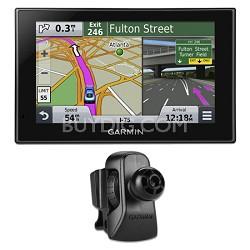"nuvi 2539LMT 5"" Advanced Series GPS Navigation w Lifetime Maps Vent Mount Bundle"