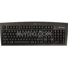 FK105 USB 2.0 Keyboard - Black - PC/Mac