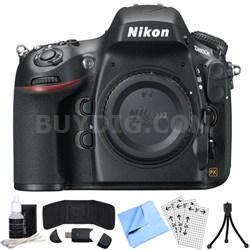 D800E 36.3MP CMOS FX-Format Digital SLR Camera Body (Black) Refurbished Bundle
