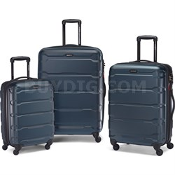 "Omni Hardside Luggage Nested Spinner Set (20""/24""/28"") Teal (68311-2824)"