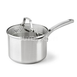2.5-qt. Classic Stainless Cookware Sauce Pan - 1891250