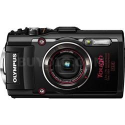 TG-4 16MP 1080p HD Waterproof Digital Camera w/ 3-Inch LCD - Black - OPEN BOX