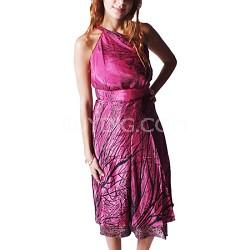 100 Way Wrap Skirt Dress, Saba Vine - Pink (One Size)