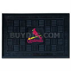 MLB St. Louis Cardinals Vinyl Heavy Duty Door Mat