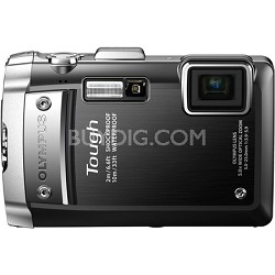 Tough TG-610 14MP Waterproof Shockproof Freezeproof Digital Camera - Black