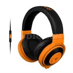 Kraken Analog Music and Gaming Headset in Neon Orange - RZ04-01400400-R3U1