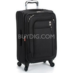 Helium Sky Carry-On Expandable Spinner Suiter Trolley (Black) - 2794400