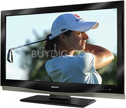 "LC-37D62U - AQUOS 37"" High-definition 1080p LCD TV"