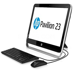 """23"""" Pavilion 23-g110 All-in-One - AMD Quad-Core A6-5200 - OPEN BOX"""