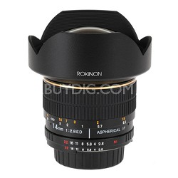 FE14M-S 14mm F2.8 Ultra Wide Lens for Sony Alpha (Black) OPEN BOX