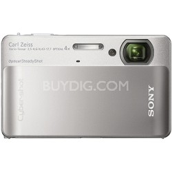 Cyber-shot DSC-TX5 10.2 MP Digital Camera (Silver)