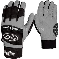 BGP950T Adult Workhorse 950 Series Batting Glove Black XL