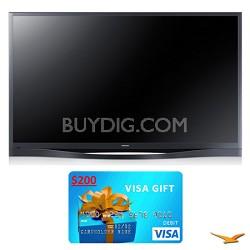 "PN60F8500 60"" 1080p 3D WiFi Plasma HDTV Bundle"