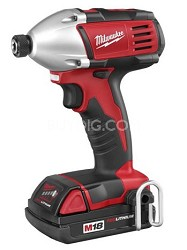 "2650-21 M18 Cordless LITHIUM-ION 1/4"" Hex Compact Impact Driver"