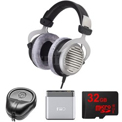 DT 990 Premium Headphones 250 OHM - 481807 w/ M-Audio Amp. Bundle