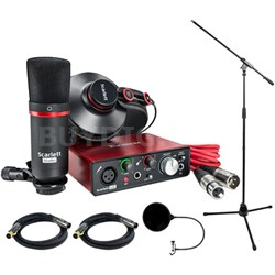 Scarlett Solo Studio Pack 2nd Gen & Recording Bundle w/ Pro Tools