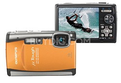 "Stylus Tough 6000 10MP 2.7"" LCD Digital Camera (Orange) - REFURBISHED"