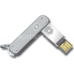 Alox 4GB Slim Flight Silver USB Drive (4.6171.26G4)