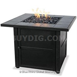 UF Ceramic Tile LP Gas Firepit