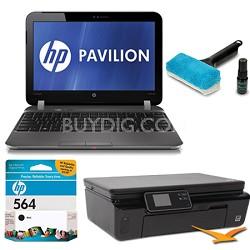 """Pavilion 11.6"""" DM1-4010US Entertainment Notebook and Printer Bundle"""