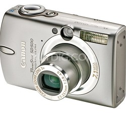 Powershot SD500 Digital ELPH Camera