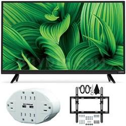 """D39hn-E0 D-Series 39"""" Class Full-Array LED TV w/ Tilt Wall Mount Bundle"""