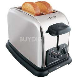 22600 Classic Chrome 2 Slice Extra-Wide Slot Toaster