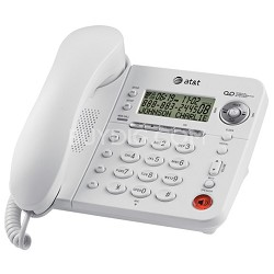 Corded Telephone with Answering System and Speakerphone