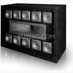 TW110 - Professional Carpeted 11-Way Tweeter Box
