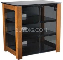 "DFAV230CN - Designer Series 4-Shelf A/V Cabinet for TVs up to 37"" (Chestnut)"