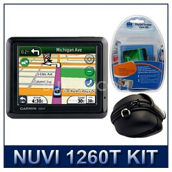 nuvi 1260T North America City GPS Total Care Kit with Case and Cleaning Kit