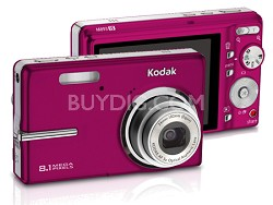 EasyShare M893 8.1 MP Digital Camera (Red)