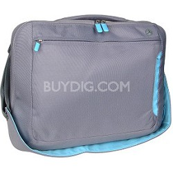 F8N050-DGL-DL 15-Inch Notebook Messenger bag (Dove/Light Blue)