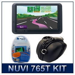 nuvi 765T North America City Navigator GPS with Case and Cleaning Kit