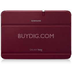 Galaxy Note 10.1 Book Cover - Garnet Red
