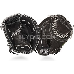 12-Inch FG Zephyr Softball Catchers Mitt, Black, Right Hand Throw