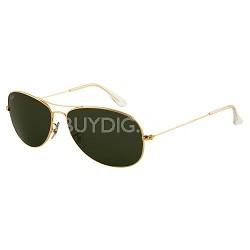 Cockpit Sunglasses - Arista Frame -Green Lens 59mm