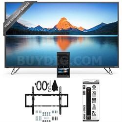 M50-D1 - 50-Inch 4K SmartCast HDR Ultra HD TV Flat + Tilt Wall Mount Bundle