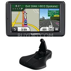 "nuvi 2555LMT 5"" GPS Navigation System w/Lifetime Map Traffic Update Mount Bundle"