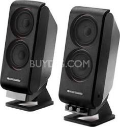 2.0 Music & Gaming Stereo Speaker System (Black)