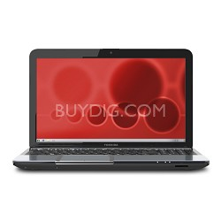 "Satellite 15.6"" S855D-S5256 Notebook PC - AMD Quad-Core A10-4600M Accel. Proc."