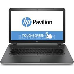"""Pavilion TouchSmart 17-f020us 17.3"""" Notebook PC - AMD Quad-Core A8-6410 Proc."""