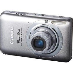 PowerShot ELPH 100 HS 12MP Silver Digital Camera w/ 4X Optical Zoom 1080p Video