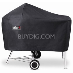 7454 Vinyl Cover - Fits Charcoal Grills with Work Table - OPEN BOX