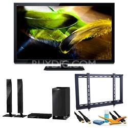 """55"""" TC-P55UT50 VIERA 3D Full HD (1080p) Plasma TV Speaker Bundle"""