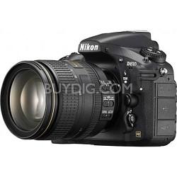 D810 FX-format Digital SLR with 24-120mm f/4G ED VR Lens (Factory Refurbished)