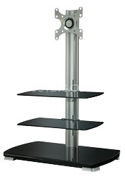 "FFMF2A - Flat Panel TV Stand for flat panel TVs up to 40"" w/ 3 shelves"