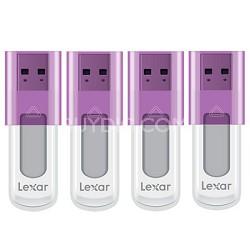 16 GB JumpDrive High Speed USB Flash Drive (Purple) 4-Pack (64 GB Total)